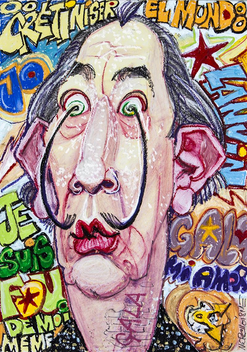 Salvador Dalí by Morchoisne