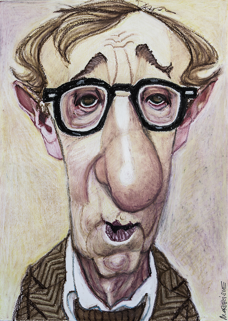 Woody Allen by Morchoisne