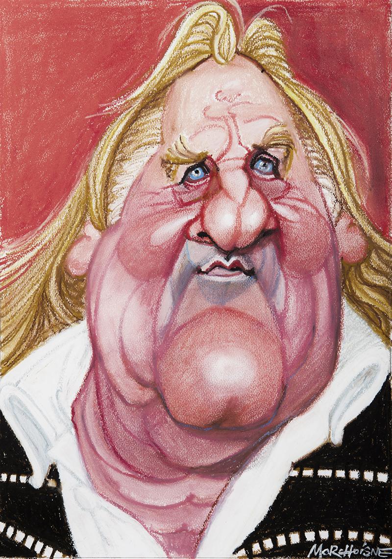 Gérard Depardieu by Morchoisne